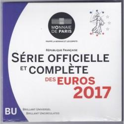 FRANCE - COFFRET EURO BRILLANT UNIVERSEL CLASSIQUE 2017 - 8 PIECES