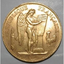 FRANKREICH - KM 832 - 100 FRANCS 1906 A PARIS - GOLD - GENIUS