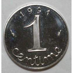 FRANKREICH - KM 928 - 1 CENTIME 1991 TYP WEIZENKOLBEN