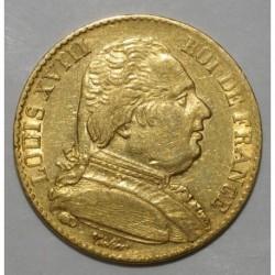 GADOURY 1026 - 20 FRANCS 1815 A - OR - BUSTE HABILLE - TTB - KM 706.1