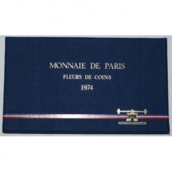 COFFRET FLEUR DE COIN 1974 TRANCHE A