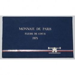 COFFRET FLEUR DE COIN 1975 TRANCHE A