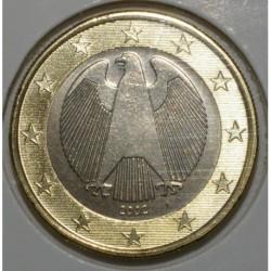 ALLEMAGNE - 1 EURO 2002 F - FLEUR DE COIN - UNC