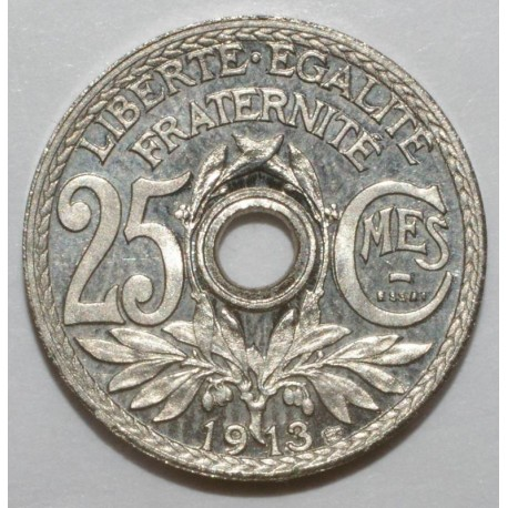 GADOURY 379 - Gad vert 77.2 - 25 CENTIMES 1913 - ESSAI DE LINDAUER - SPL