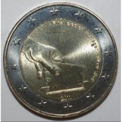 MALTE - KM 144 - 2 EURO 2011 - ÉLÉCTION DES PREMIERS REPRÉSENTANTS DU PAYS EN 1849