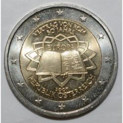 AUTRICHE - KM 3150 - 2 EURO 2007 - TRAITÉ DE ROME