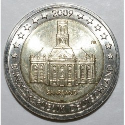 ALLEMAGNE - 2 EURO 2009 - SAARLAND - ATELIERS A - SUP/FDC