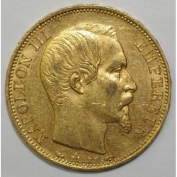 GADOURY 1061 - 20 FRANCS 1853 A PARIS - TYPE NAPOLEON III - SUP - KM 781.1