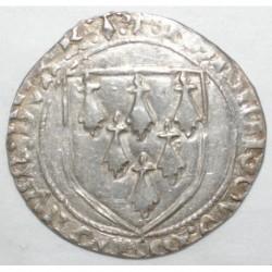 BRETAGNE - FRANCOIS II - 1458 - 1488 - GROS A L'ECU DE RENNES - TTB