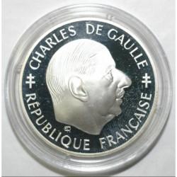 FRANCE - KM 978 - 1 FRANC 1988 TYP CHARLES DE GAULLE - SILVER