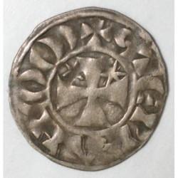 BRETAGNE - COMTE DE PENTHIEVRE - ETIENNE 1er - 1100 - 1150 - DENIER