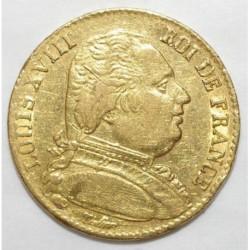 GADOURY 1026 - 20 FRANCS 1815 A - OR - BUSTE HABILLE - TTB +